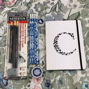 Assorted Art Supplies